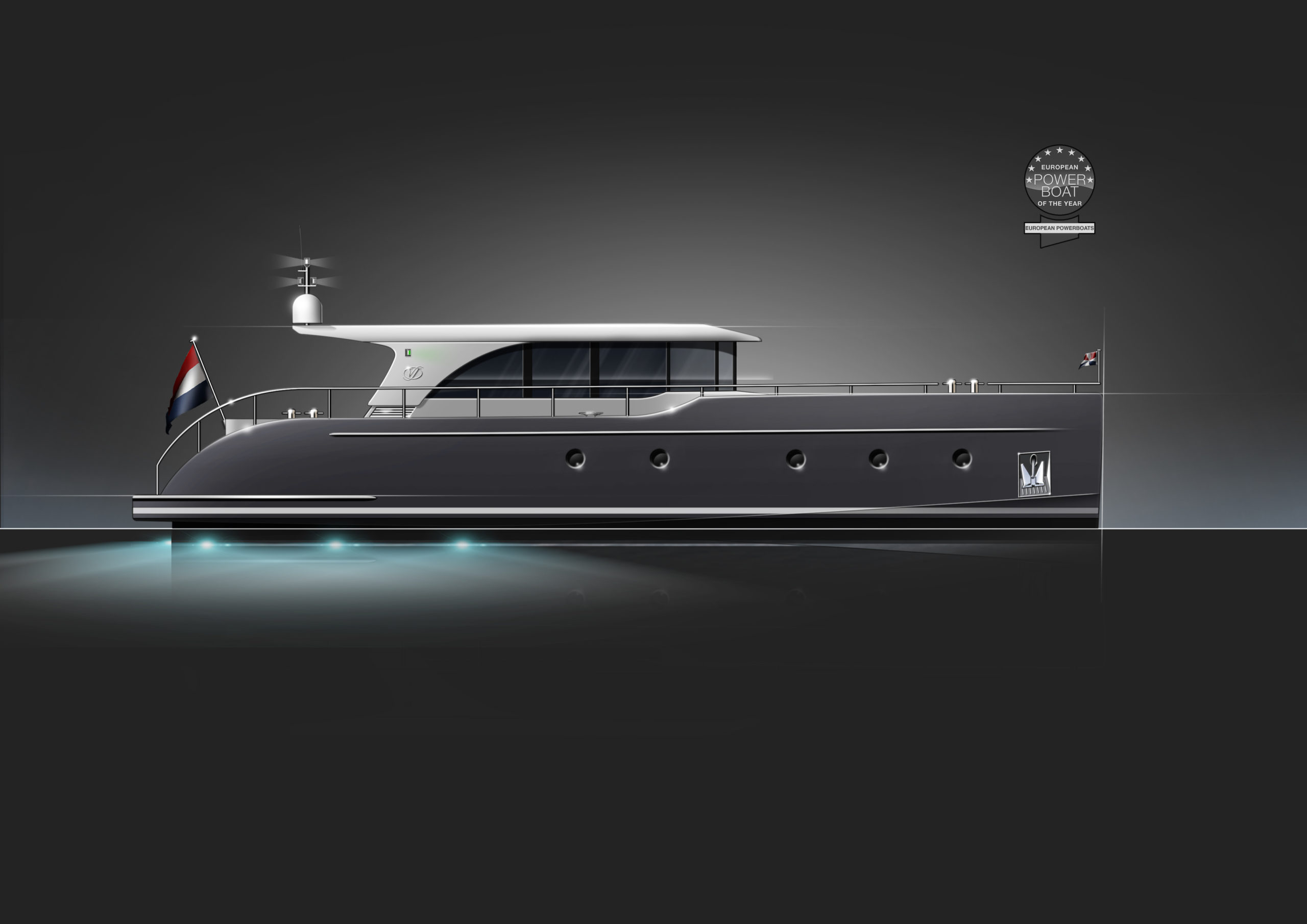 Vedette Navigator 35 Powerboat of the year 2020